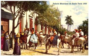 1950-Palacio-Municipal-Santa-Tecla