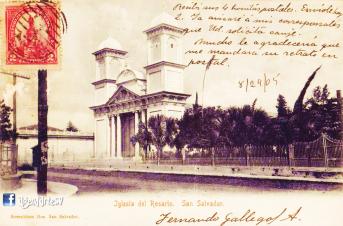 Antigua Iglesia El Rosario, San Salvador, El Salvador
