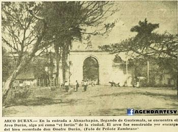 Arco Duran, Ahuachapan, 1965