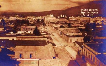 Calle Arce, San Salvador-1920, El Salvador
