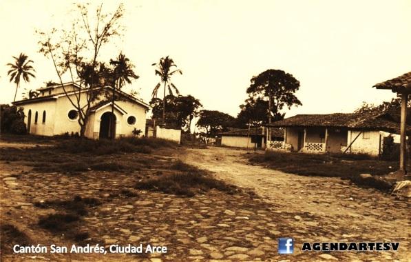 Canton san andres, ciudad arce, la libertad