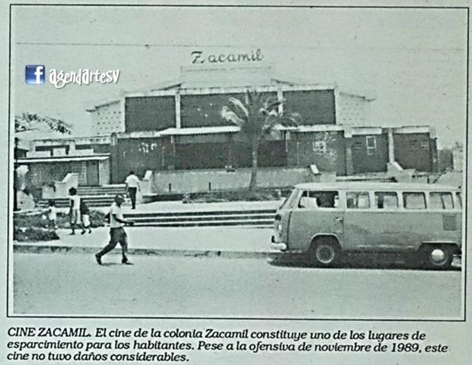Cine Zacamil, Mejicanos, El Salvador