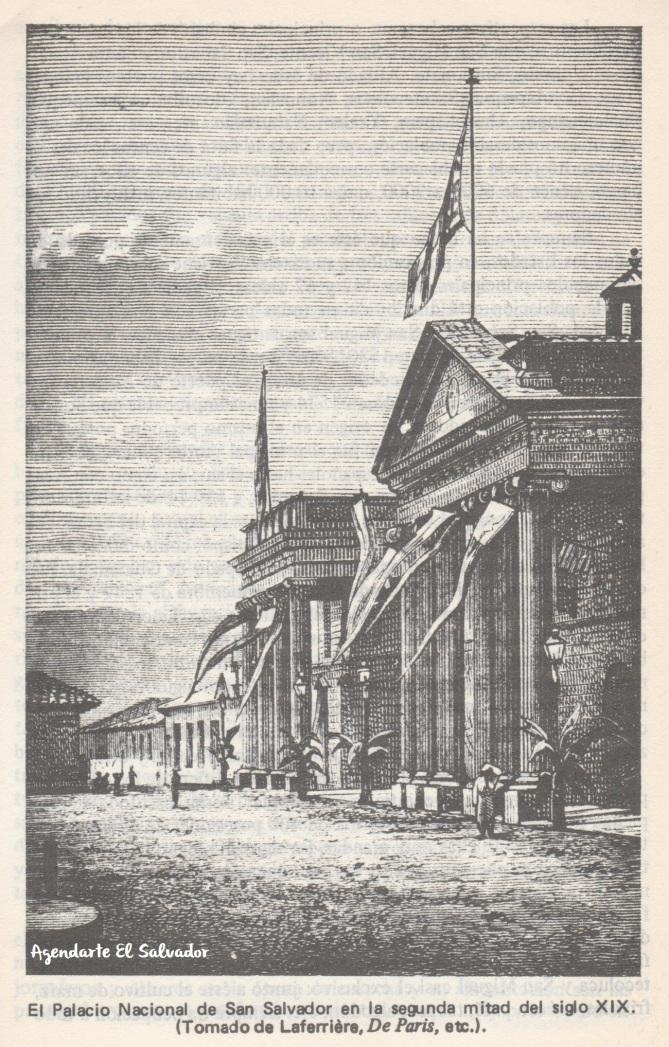 El Palacio Nacional de San Salvador, Segunda mitad del siglo XIX
