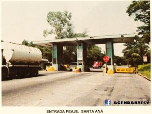 Entrada Peaje Santa Ana