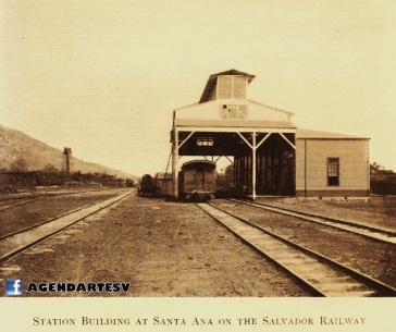 Estacion del Ferrocarril en Santa Ana, El Salvador