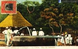 Fuente publica en Conchagua, La Union, El Salvador