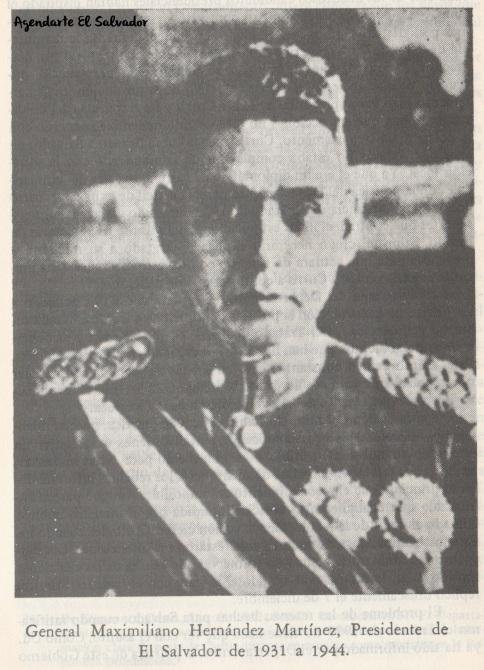 General Maximiliano Hernández Martínez, Presidente de El Salvador de 1931 a 1944