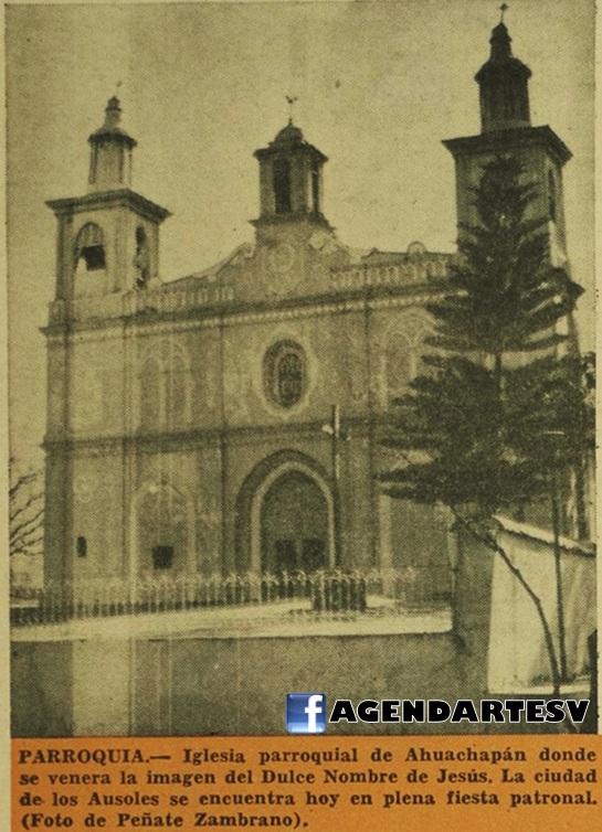 Iglesia de Ahuachapan, 1965