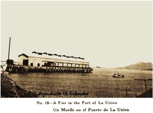Muelle Puerto de La Union, El Salvador