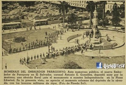 Plaza Libertad, San Salvador,1965,edh