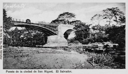Puente de la Ciudad de San Miguel, El Salvador