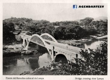 Puente del Remolino sobre el Rio Lempa, El Salvador