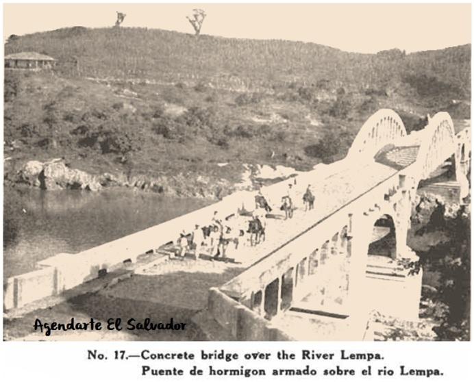 Puente sobre Rio Lempa, El Salvador