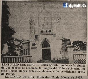 Santuario del Niño, Coatepeque, El Salvador