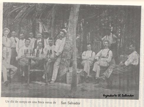 Un día de campo en una finca cerca de San Salvador