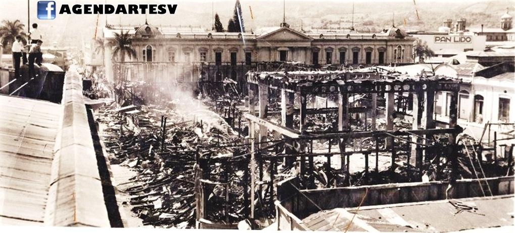 Universidad de El Salvador incendio