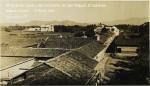 Vista de las casas y los cerros en San Miguel, El Salvador