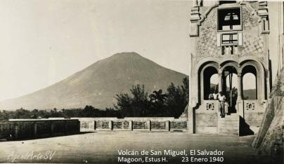 Volcan de San Miguel, El Salvador