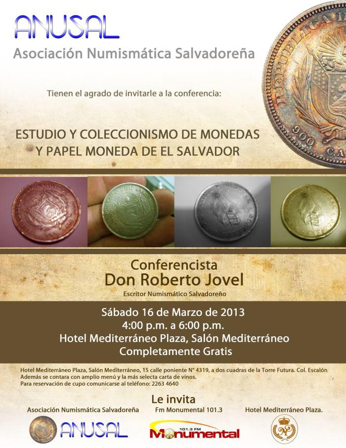conferencia numismatica