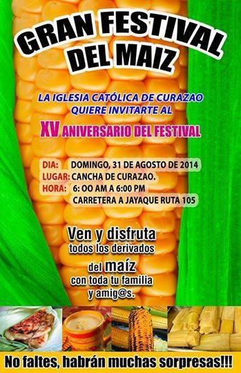 xv festival del maiz