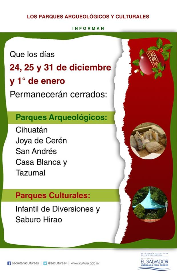 horario arqueologia