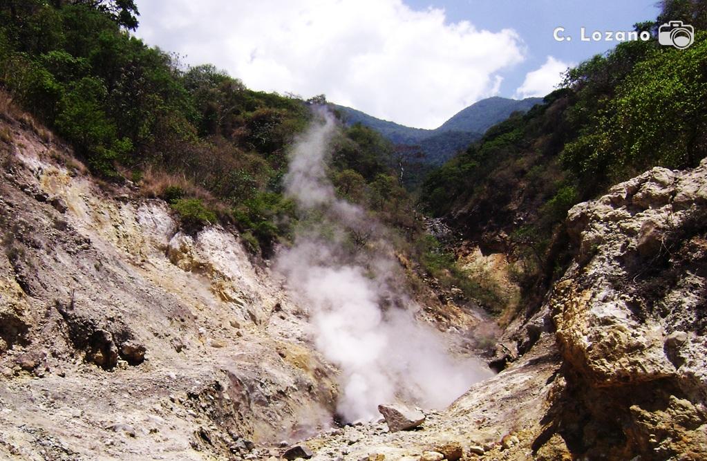 Ausoles Los Infiernillos, Verapaz, San Vicente, El Salvador