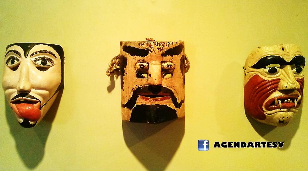 coleccion de mascaras de El Salvador