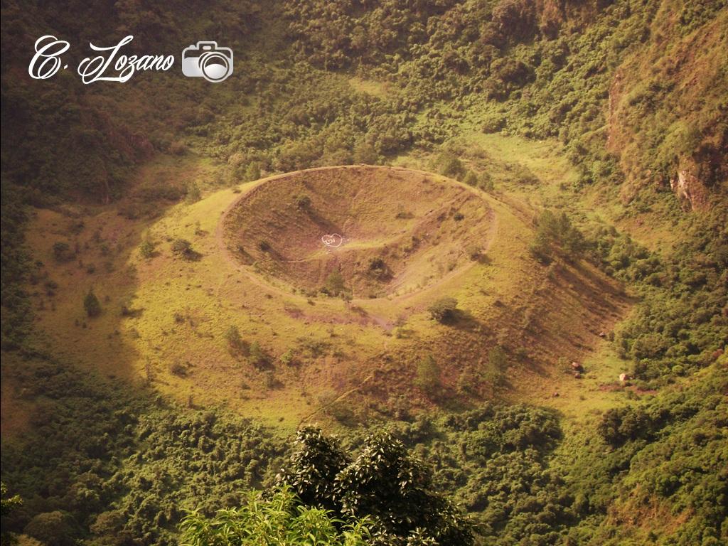 Crater el Boqueron, Volcan de San Salvador