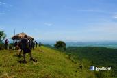 Desde la cumbre del Cerro Cinotepeq, El Paisnal, El Salvador