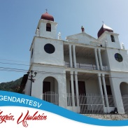 Iglesia de Alegria, Usulutan, El Salvador