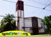 Iglesia de Jiquilisco, Usulutan, El Salvador