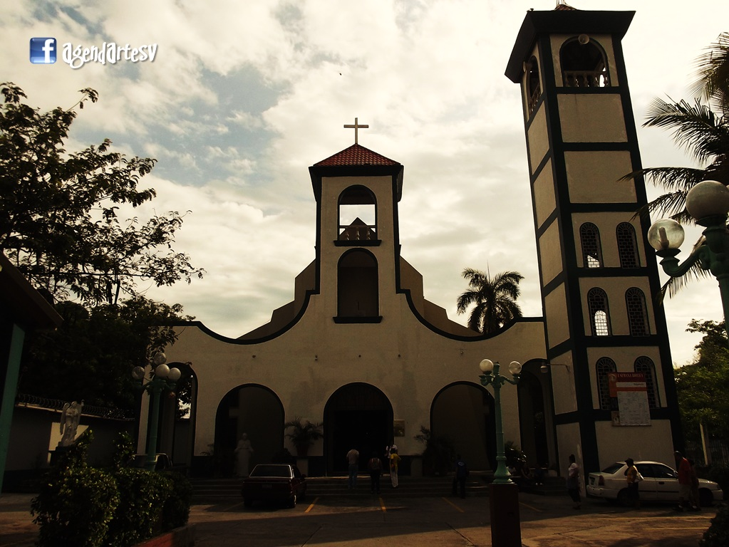 Iglesia de San Rafael Obrajuelo, La Paz, El Salvador