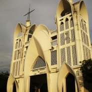 Iglesia Nuestra senora de los Angeles, Sonsonate, El Salvador
