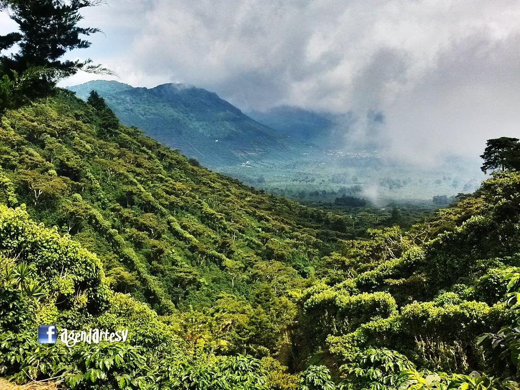 Los Naranjos, desde Cerro El Aguila, Sonsonate, El Salvador