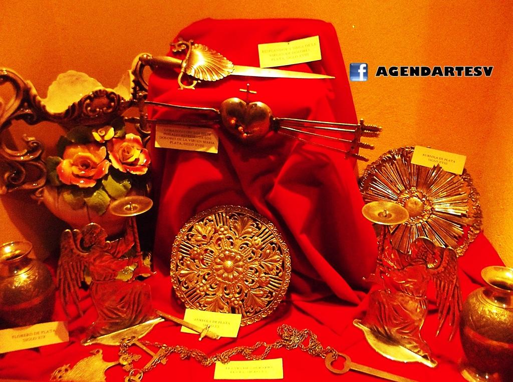 orfebreria resplandores, diademas y aureolas