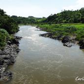 Rio Lempa, Frontera El Salvador (Victoria) y Honduras (Mapulaca)