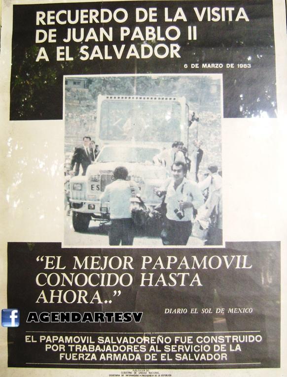 visita papa Juan Pablo El Salvador 1983