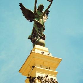 Estatua de La Libertad, Centro Historico, El Salvador