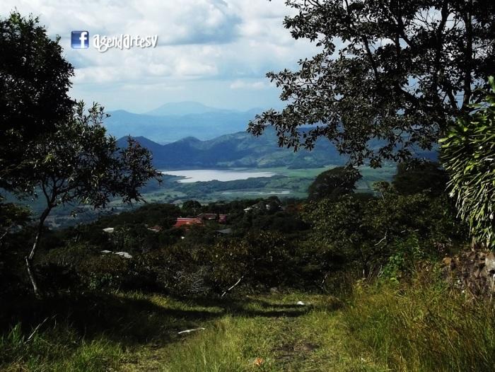 Laguna Atescatempa, Jutiapa, Guatemala, desde el Volcan Chingo, frontera Guatemala-El Salvador