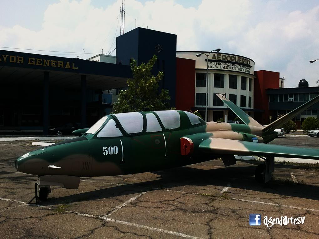 Avion, Museo, El Salvador