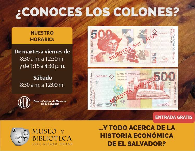 Colones El Salvador