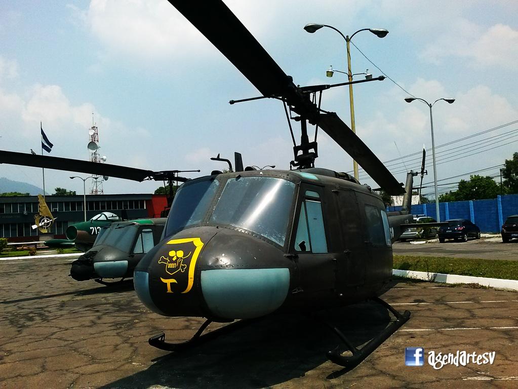 Helicoptero, Museo, El Salvador