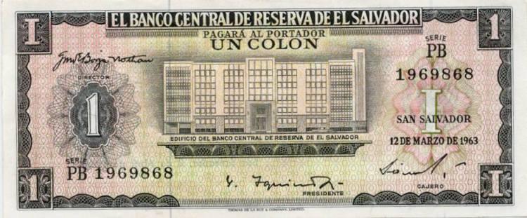 Un colon 1957 El Salvador - 2