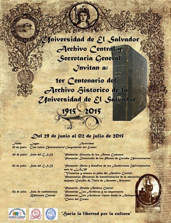 centenario archivo UES
