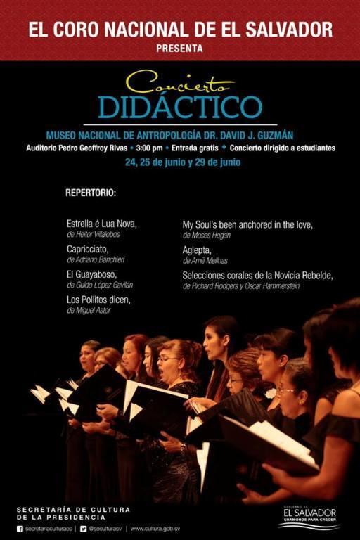 Concierto Didáctico del Coro Nacional