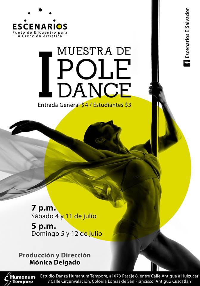 muestra pole dance