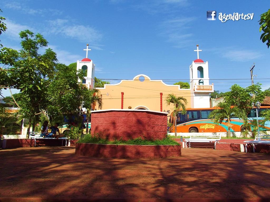 Iglesia y Parque de Mercedes Umaña, Usulutan