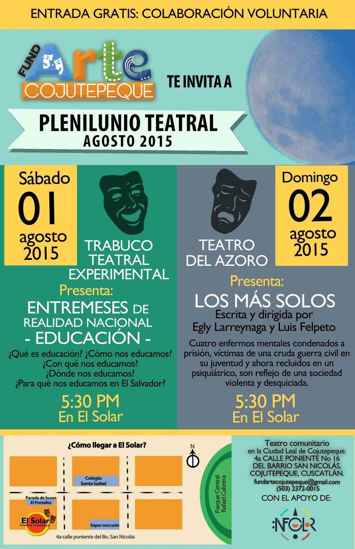 Plenilunio teatral