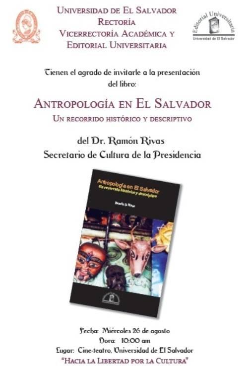 Antropología en El Salvador, un recorrido histórico y descriptivo