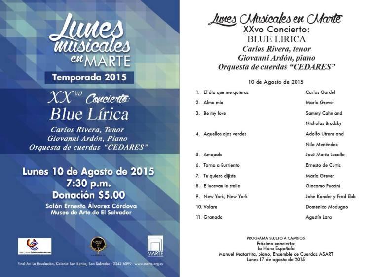 blue lirica
